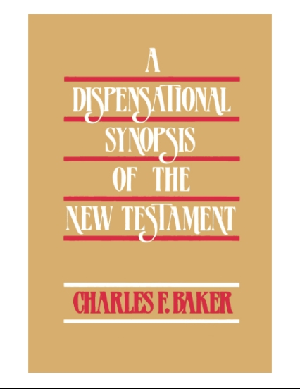 dispensational synopsis cover